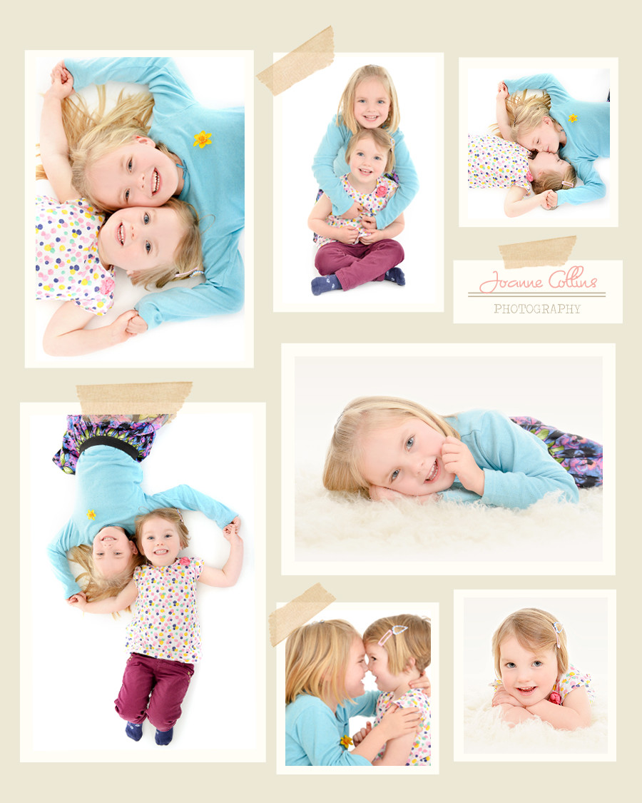 Studio Photographer Maidstone. Fun photoshoot with sibling sisters, the girls laughed and had fun throughout the session.