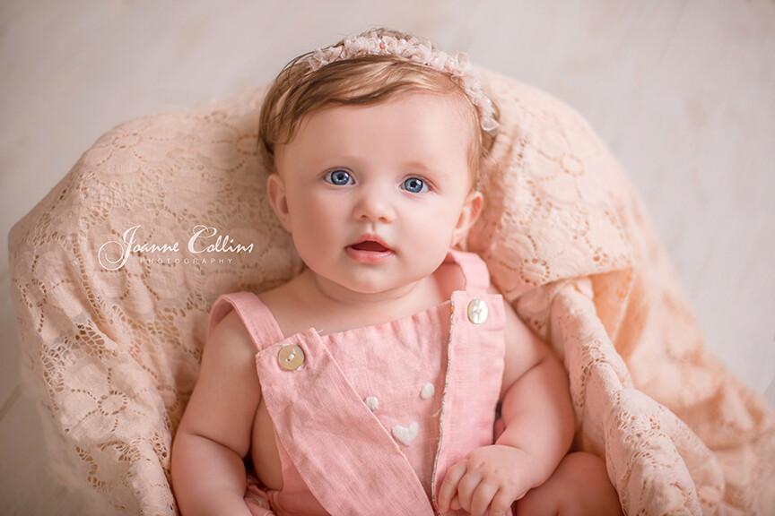 baby photographer tunbridge wells kent 6 months old baby girl